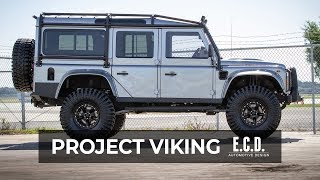 Download Intimidating 7'4″ Custom Defender 110 with 37-inch Tires | Project Viking Video