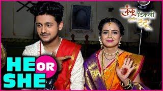 Download Kunku Tikli Tatoo   He or she With Rama And Raaj   Newly Married Couple   Colors Marathi Video
