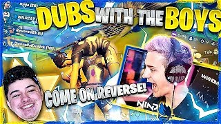 Download DUBS WITH THE BOYS! W/ WILDCAT, REVERSE2K & BASICALLYIDOWORK (Fortnite: Battle Royale) Video