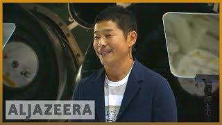 Download 🚀 Meet Yusaku Maezawa, first SpaceX moon tourist   Al Jazeera English Video