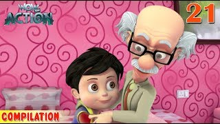 Download Vir : The Robot Boy | Vir Action Collection - 21 | Action series | WowKidz Action Video