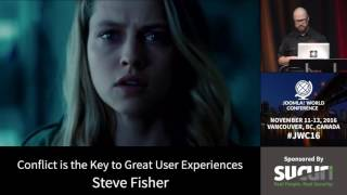 Download JWC 2016 Conflict is the Key to Great User Experiences - Steve Fisher Video