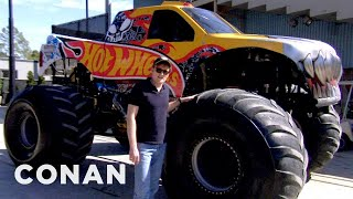 Download Conan Drives Monster Trucks - CONAN on TBS Video