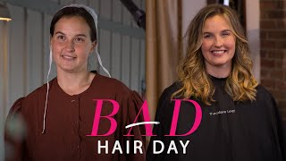 Download A Stunning Hair Transformation for One Amish Woman—Bad Hair Day—Glamour Video
