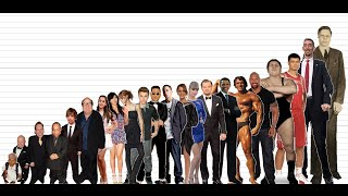 Download Celebrity Height Comparison Chart (10K Subscribers Special) Video