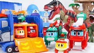 Download New GOGO DINO Robot Dinosaur Max Anky Storm Perry Transforming Robot Dinosaurs | ToyMoon Video