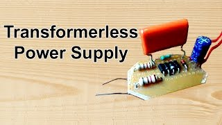Download Transformer less Power Supply Video