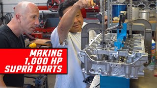 Download The Making of 1,000 Horsepower 2020 Supra Engine Parts Video