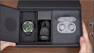 Download New Samsung Gear Sport and IconX (2018) Unboxing! Video