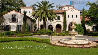 Download Architecture Spotlight #64 | Villa de Encanto by Sims Luxury Builders | Houston Texas Video