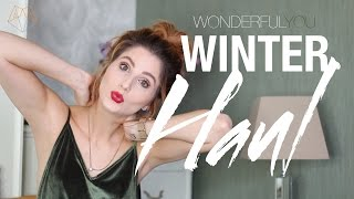 Download WINTER HAUL & TRY ON | Wonderful You Video