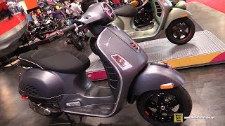 Download 2018 Vespa GTS Super 300 Scooter - Walkaround - 2018 Toronto Motorcycle Show Video