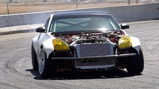 Download First time drifting the 2jz 350z! Video