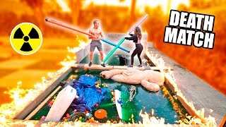 Download GLADIATOR DEATHMATCH OVER OUR TOXIC POOL (Don't Fall In) Video