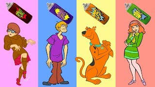 Download Baby Learn Colors with Wrong Colors Scooby Doo, Shaggy Rogers, Velma Dinkley, Daphne Blake Video