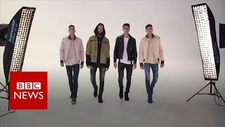 Download Brothers from Chechnya defy critics to become top models - BBC News Video