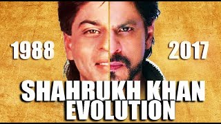 Download SHAHRUKH KHAN Evolution ( 1988 - 2017 ) Video