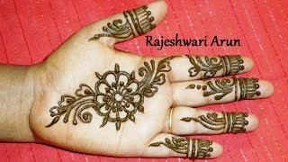 Download simple easy henna mehndi designs for hands step by step for beginners Video