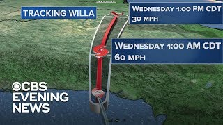 Download Hurricane Willa hits Mexico, aims for Texas Video