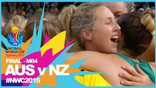 Download NWC15 I Australia v New Zealand I FINAL Video