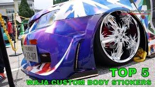 Download TOP 5 Best Compilation Custom Body Sticker for Proton Waja - Nov 2016 Video