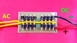 Download How to Make 20 Amp Diode ″Bridge Rectifier″ Video