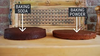 Download Here's the difference between baking powder and baking soda — and how to substitute one for another Video
