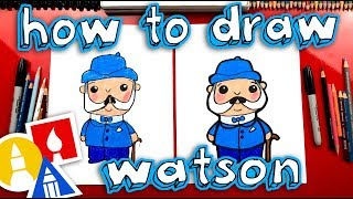 Download How To Draw Watson From Sherlock Gnomes - GIVEAWAY! Video