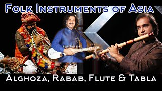 Download Musical Instruments of Pakistan Flute, Rubaab, Alghoza & Tabla, Sounds of Pakistan Video