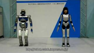 Download HRP-4C & HRP-2 Promet (ROBOFES) Video