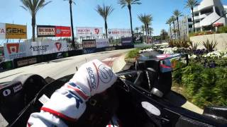 Download Visor Cam: Graham Rahal At The Toyota Grand Prix of Long Beach Video