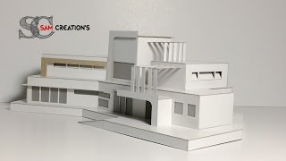 Download MODEL MAKING OF MODERN ARCHITECTURAL contemporaneity Design #5 Video