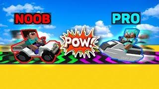 Minecraft Battle: NOOB vs PRO vs HACKER vs GOD : SUPER