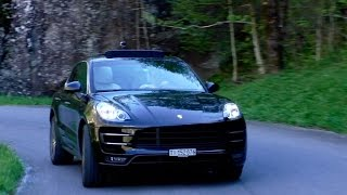 Download Porsche Macan Turbo   Driving and Sound Video