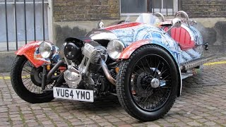 Download 2015 Morgan 3 Wheeler Start Up, Test Drive, and In Depth Review Video