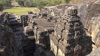 Download Ellora Caves, Maharashtra, India in 4K Ultra HD Video