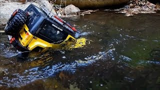 Download RC CAR Trail MST CFX Jeep Rubicon Su-jung Valley Diving Video