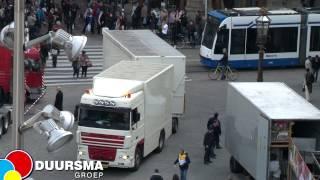 Download Kermis Amsterdam Dam april 2012 - Opbouw in 24 uur Video