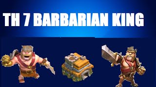 Download Clash of Clans - TH 7: Get Your Barbarian King in 4 hours! Video