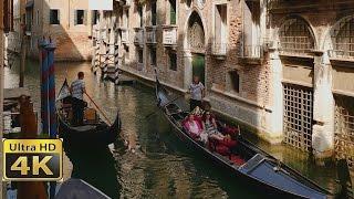 Download Venice italy romantic gondola ride / AMAZING 4k video ultra hd Video