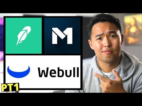 Robinhood vs M1 Finance Vs Webull 2020 PT1