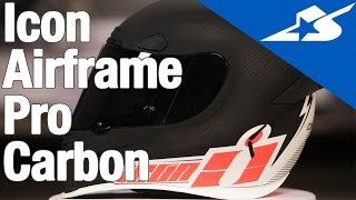 Download Icon Airframe Pro Carbon Helmet | Motorcycle Superstore Video