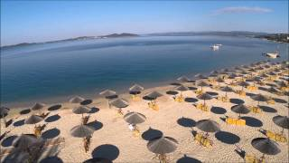 Download The Beach of the Akrathos Beach Hotel Video