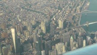 Download New York City aerial view / Нью-Йорк - вид с воздуха Video