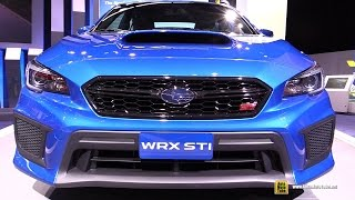 Download 2018 Subaru WRX STI - Exterior and Interior Walkaround - Debut at 2017 Detroit Auto Show Video