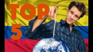 Download TOP 5 - Colombia en Hollywood (Versión 1) Video