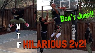 Download HILARIOUS Backyard Basketball 2v2..!! Video