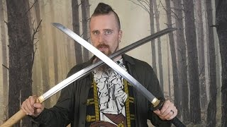 Download Review: Ko katana and Elite bare blade from Ronin Katana Video