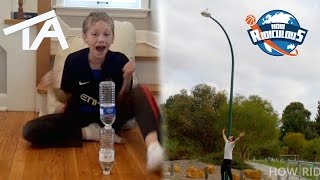 Download Water Bottle Flip Trick Shots ULTIMATE EDITION | That's Amazing & How Ridiculous Video