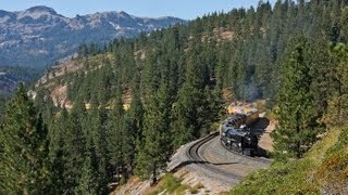 Download Union Pacific 844 Big Steam Over Donner Pass Video